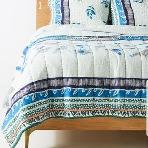 Anthropologie Kirby King Quilt